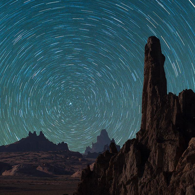 Desert Startrails by Jock Goodman
