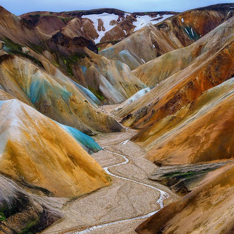 Colorful canyon by John Weatherby