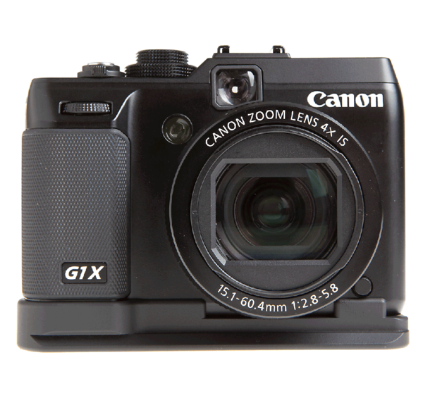 Batter grip plate for Canon G1 X