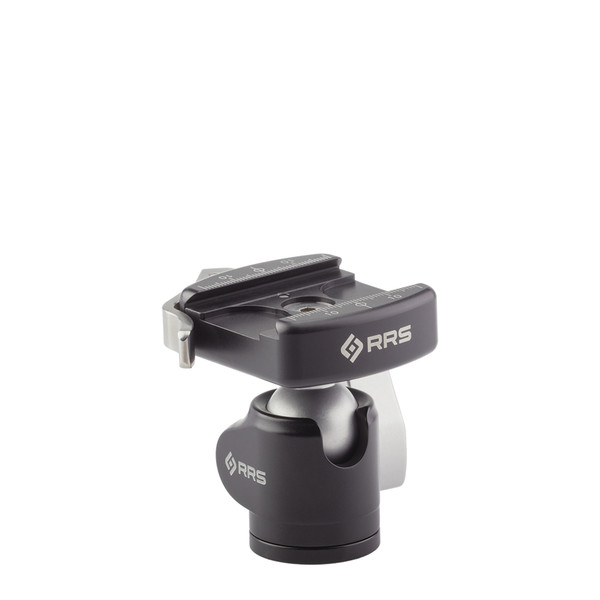 BH-25 Ballhead with lever-release clamp and compact clamp size front view