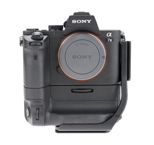 BVGC2EM aluminum L-plate for Sony camera with battery grip