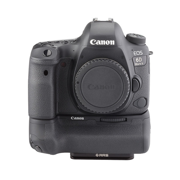 Battery grip for Canon 6D Mk II - front view