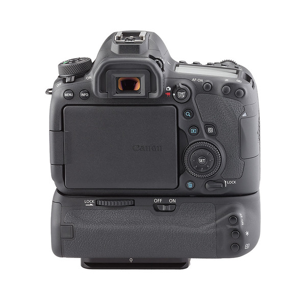 Battery grip for Canon 6D Mk II - back view