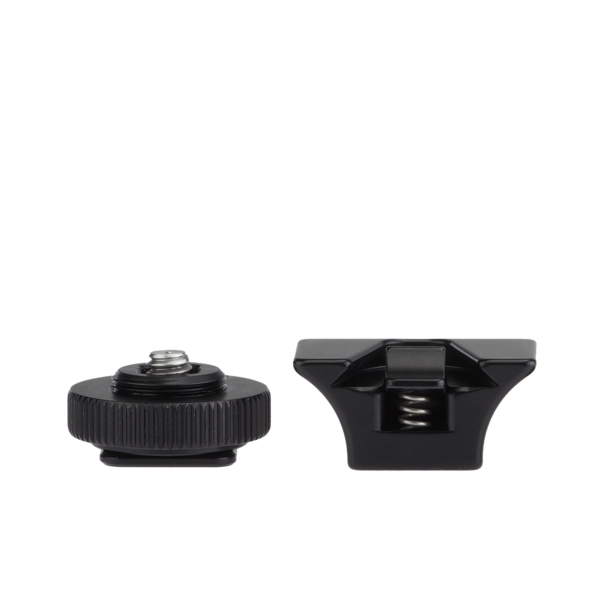 Hot shoe adapter and SNAP QR Adapter back view