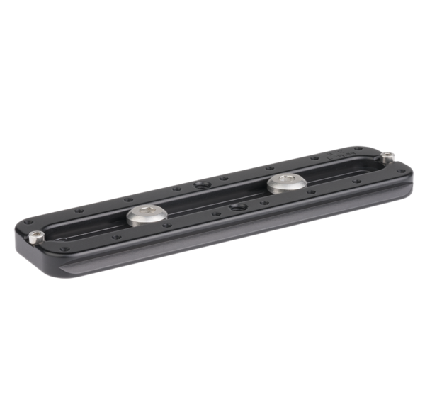 "Multi-purpose rail with 6-inch/152mm rail with 3/8"" screw bottom view"