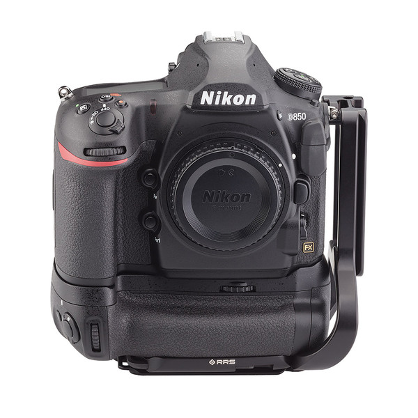 BMBD-18 battery grip plate for Nikon D850 - front view