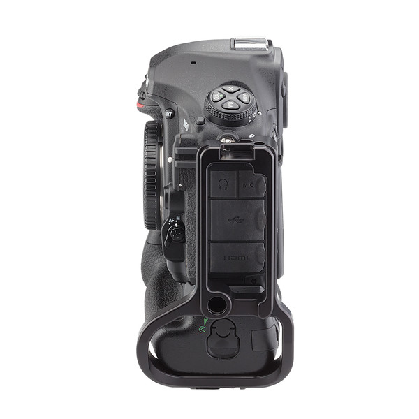 BMBD-18 battery grip plate for Nikon D850 - side view