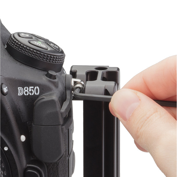 The BMBD-18 plate has a top secondary anchor point for added stability