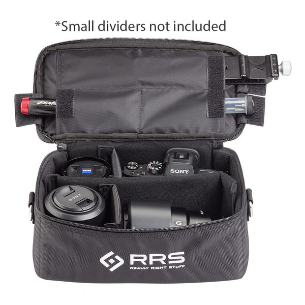 PG-02 Carry Case holding a camera and lenses