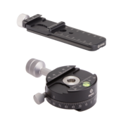 Single-Row Pano Kit with screw knob clamp and MPR-CL nodal slide option