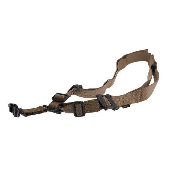 Strap-Clamp Package in coyote brown.