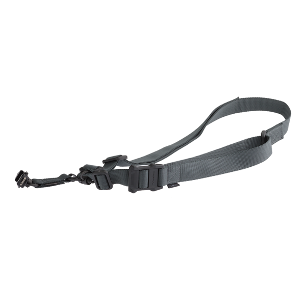 Strap-Clamp Package in stealth grey.