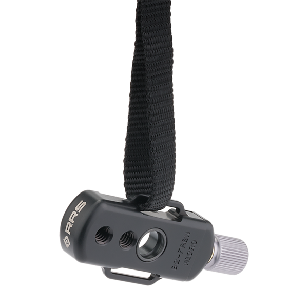 Quick release clamp: B2-FABN-Micro with strap lugs and QD socket.