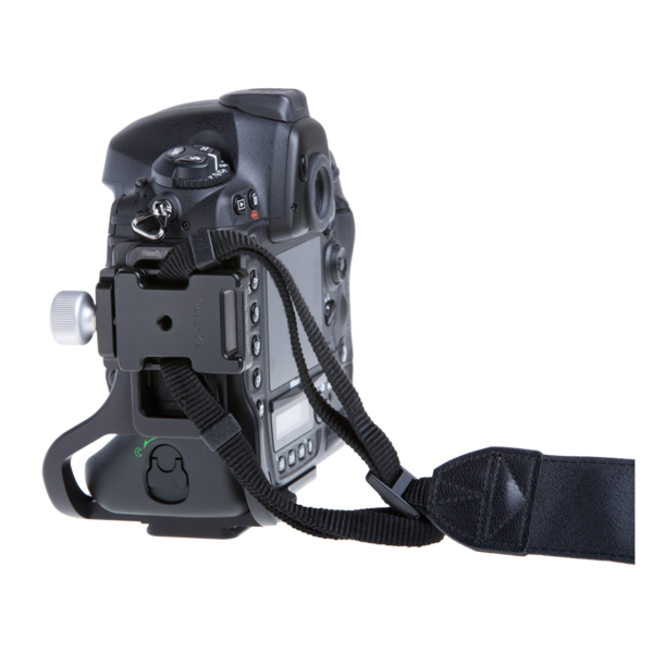 B2-FABN with strap bosses attached to side of camera