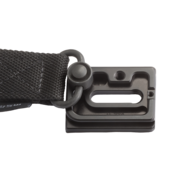 B22 Multi-use plate - bottom view with QD strap connected