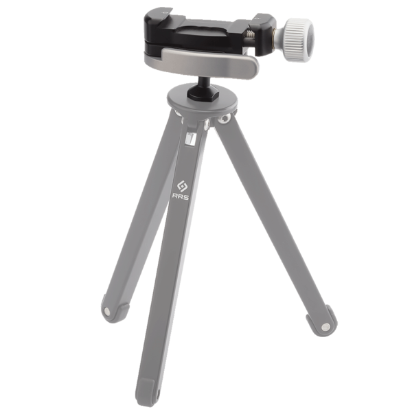 BC-18 Micro Ball attached to a tripod