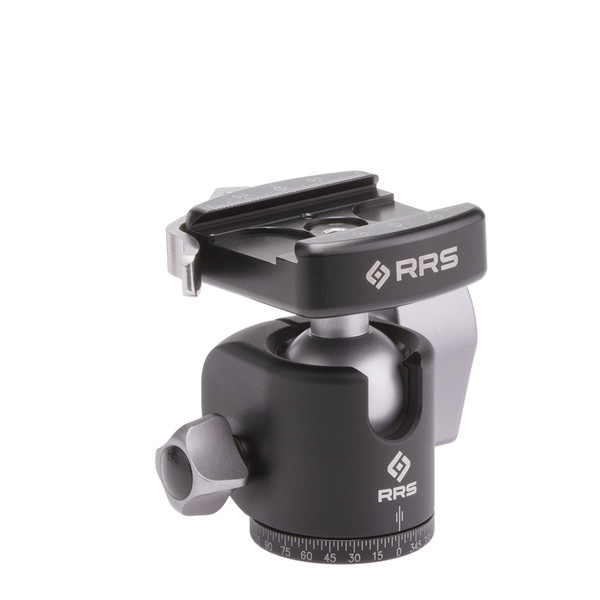 BH-30 Ballhead with lever-release clamp and compact clamp size/style front view