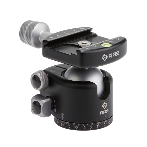 The BH-40 offers up to 45 degrees of tilt in all directions, and up to 90-degrees in the drop-notch.