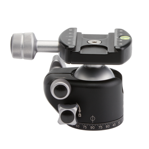 90 degree drop-notched allows maximum flexibility for positioning the camera for portrait-orientation or extreme angle shots.
