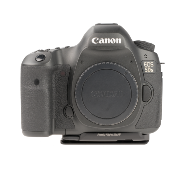 CANON CAMERA PLATES for EOS-5DS and 5DSR add quick-release functionality to your camera body.