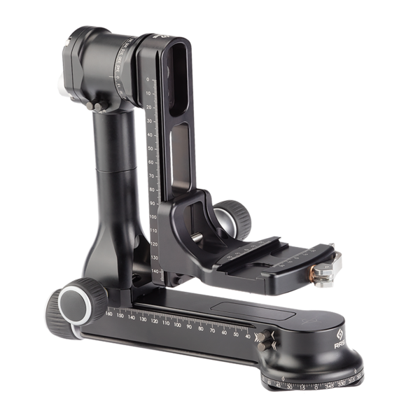 FG-02 Fluid-Gimbal Head and full-gimbal with cradle clamp