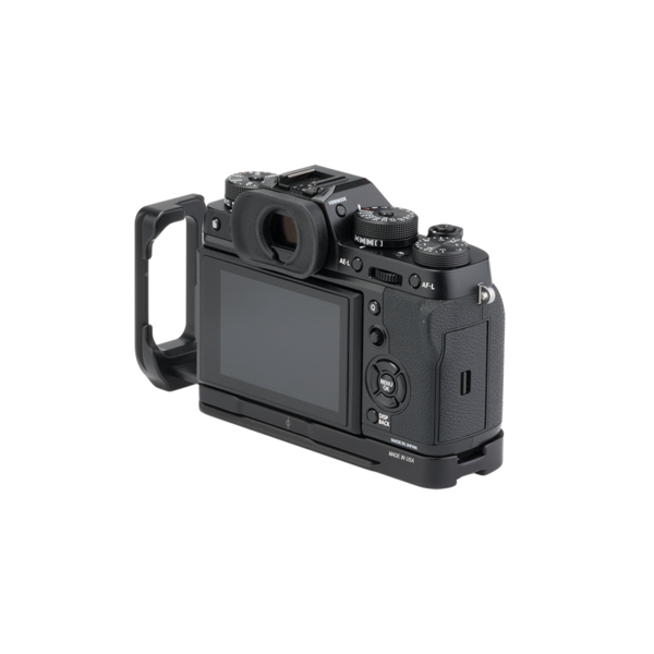 BXT2 Plates for Fuji X-T2 with L-component seen on camera