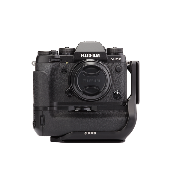 X-T2 battery grip version attached to Fuji X-T2