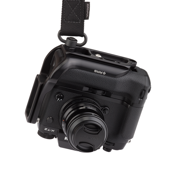 X-T2 L-plate for battery grip with detachable QD strap