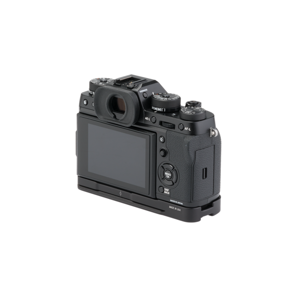 BXT2 Plates for Fuji X-T2 base plate attached to camera
