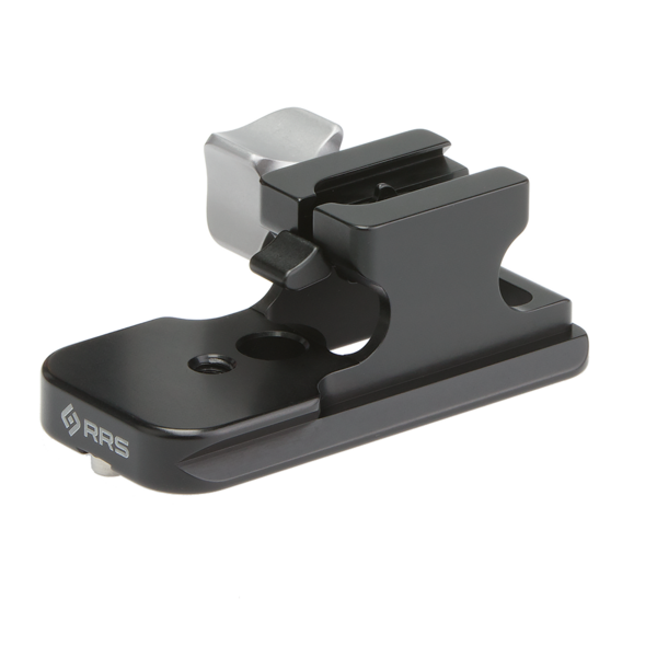 To install the LCF-10, slide it on from front to back with your largest camera.