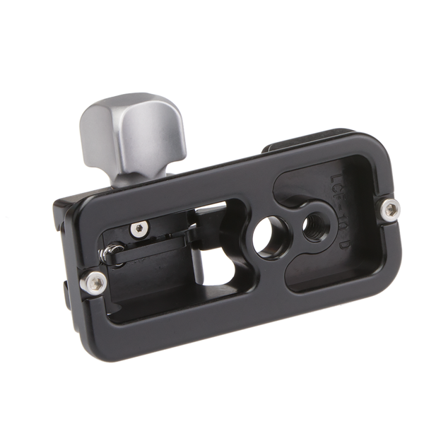 A replacement foot with built-in-dovetail mounting will be lighter, lower in profile, and provide the best possible stability for your lens.
