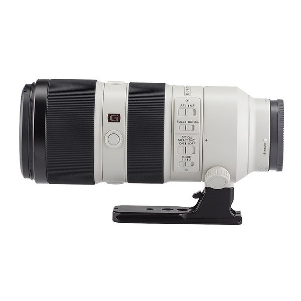 LCF-101 for Sony FE 100-400mm F/4.5-5.6 GM OSS and FE 70-200mm F/2.8 GM OSS attached to lens side view