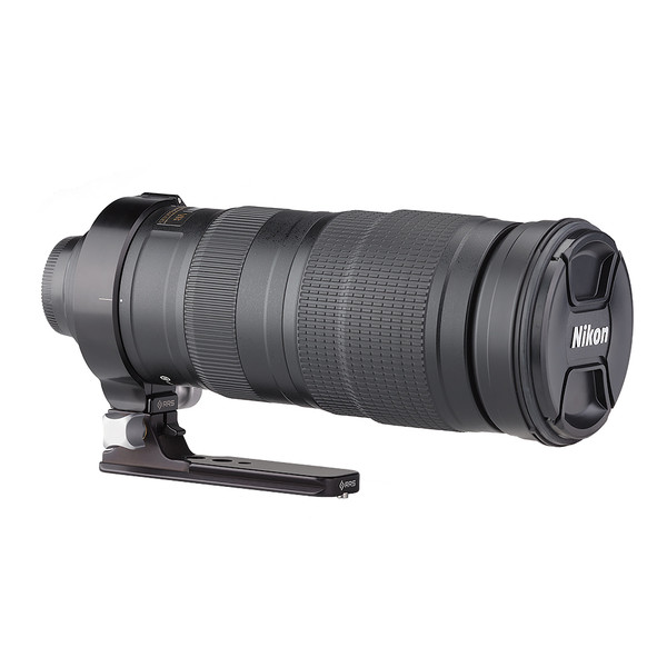 The LCF-12 replaces the lens collar foot on the Nikon AF-S NIKKOR 200-500mm f/5.6E ED VR Lens