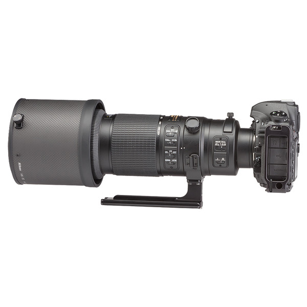 LCF-18 for Nikon AF-S 500mm & 600mm F/4E FL ED VR lenses seen attached to camera