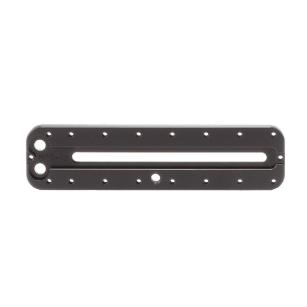 MPR-1 152mm rail without any hardware, bottom view