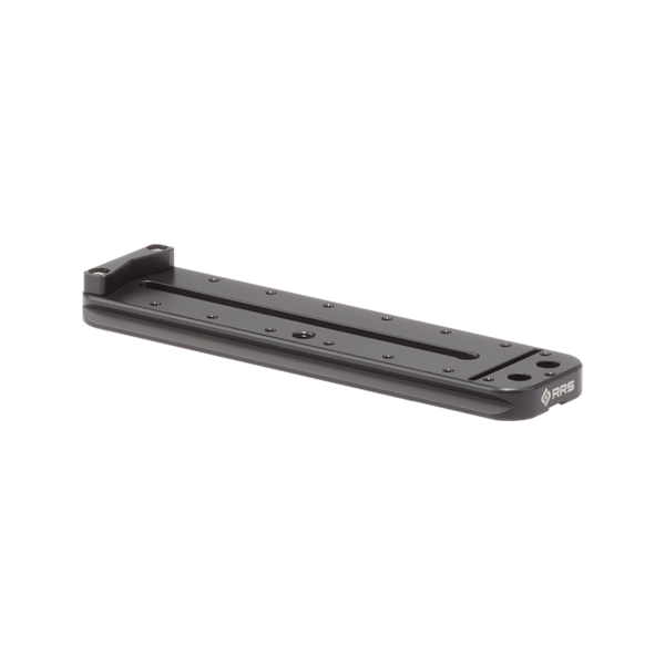 MPR-1 152mm rail with index stop bar, front angled view