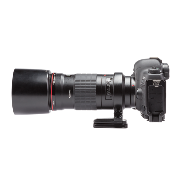 MPR-73 73mm rail attached to camera profile view