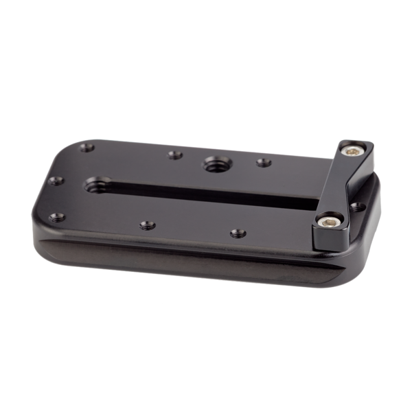 MPR-73 73mm rail with index stop bar attached, rear angled view