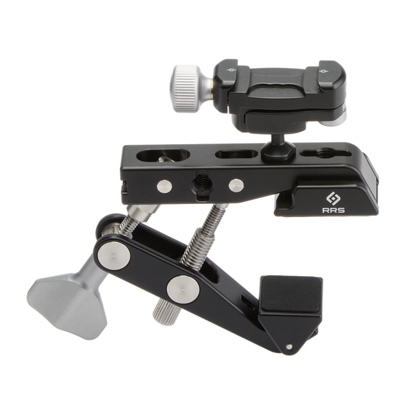 Multi-Clamp with flat surface adapters and a micro ball head on top