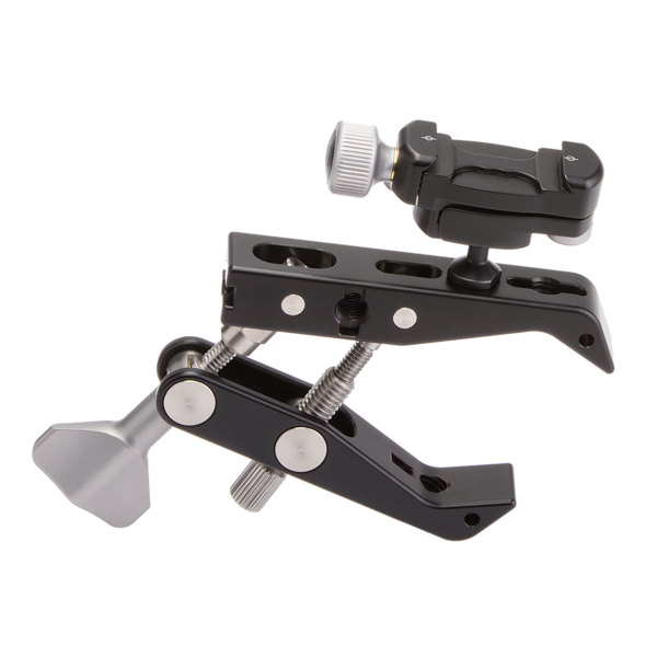 Multi-Clamp with micro ball head and without flat surface adapters