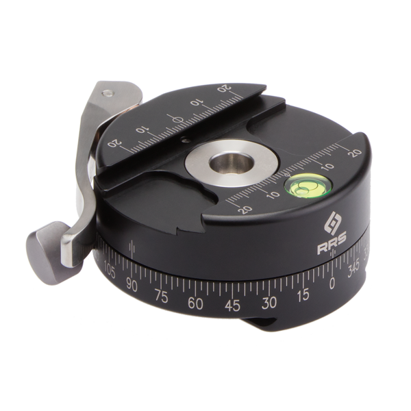 The PC-LR Panning clamp is designed to offer precision horizontal panning as a versatile built-in or modular accessory.