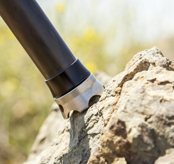 The TA-3-FRC Foot Rock Claw, highlighting the scalloped edges biting into rock for stability