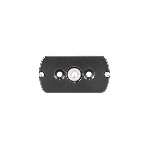 The TH-DVTL-55 Dovetail Plate allows tripod heads to be quickly detached from a tripod.