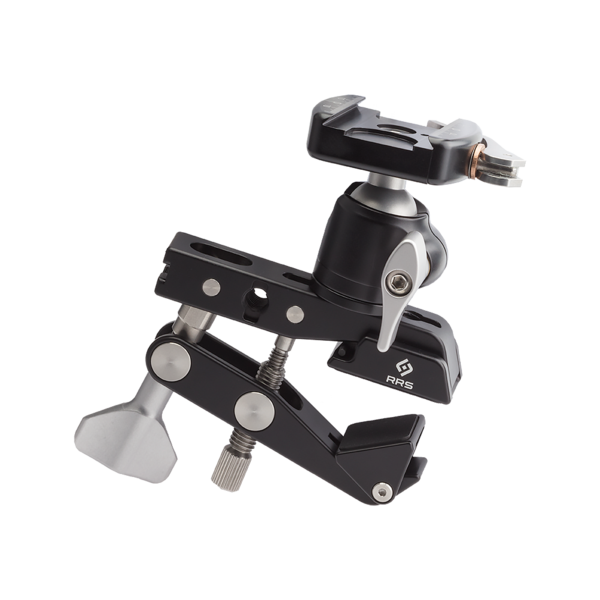 Multi-Clamp with Flat Surface Adapters and BH-25 LR Ballhead.